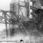 Разрушенный ЧСЗ. Апрель 1944. Фото 141