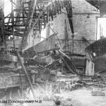 Разрушенный ЧСЗ. Апрель 1944. Фото 142