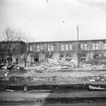 Разрушенный ЧСЗ. Апрель 1944. Фото 151