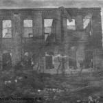 Разрушенный ЧСЗ. Апрель 1944. Фото 153