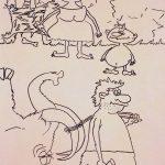 Рисунки Дианы Нещеты_17