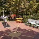 Солнечные часы в детском городке Сказка в Николаеве после реконструкции 2016