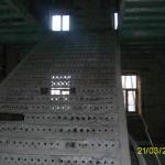 Лестница в краеведческом музее до ремонта.