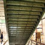 Старофлотские казармы. Лестница до ремонта. Обратная сторона