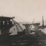 Строительство Варваровского моста.
