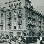 Трамвай Х на ул Потемкинской угол Советской
