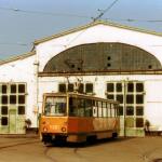 Трамвайное депо № 1 в Николаеве