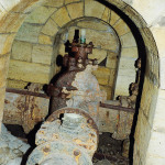 Трубопровод подачи воды в водосеть.