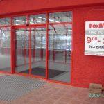 """Входная группа магазина """"Фоксмарт"""". 2006 год"""