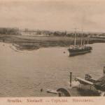 Вид на Стрелку (сейчас район Ингульского моста) Дореволюционная открытка.