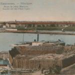 Вид на реку Ингул. Дореволюционная открытка.