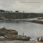 Вид со дворца  (ныне музей флота) на реку Ингул. Дореволюционное фото.