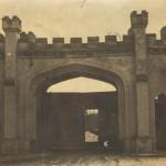 Ворота девичьего училища. Вид со двора.