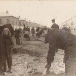 Восстановление стадиона на Темводе. Субботник. Послевоенное фото. 2