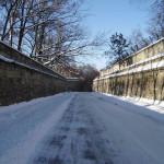 Зимняя дорога архитектора Акройда.