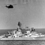 "БПК ""Ташкент"" в море."