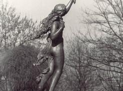 Скульптура украшавшая фонтан.