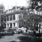Дворец и фонтан в Спасске. Фото начала ХХ столетия.