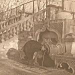 Турецкий фонтан. Снимок сделан примерно в 50-е годы ХХ столетия.