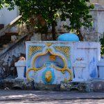 Турецкий фонтан в николаевском яхтклубе перед началом восстановительных работ летом 2016 года.