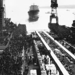Спуск на воду 5 декабря 1986 года.