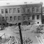 Восстановление главного корпуса. 1947 год.