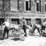 Восстановительные работы. 1946 год