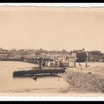 Ингульский мост. Вид со стороны Соляных. ВОВ.