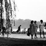 Начало 70-х. Начато строительство Ингульского моста.