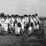 На городских соревнованиях сандружиниц 15 мая 1966 года.