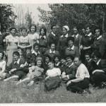 На соревнованиях сандружиниц Ленинского района 5.06.1965 года. Дружина занявшая 3-е место.