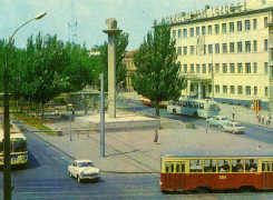 Мемориал освободителям Николаева. 70-е годы.