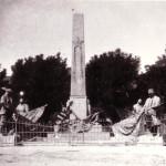 Памятник переделанный под героев Сиваша.