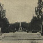 Памятник героям Сиваша. Послереволюционная открытка.
