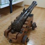 Пушка в Николаевском областном краеведческом музее.