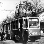 трамвай КТМ5М3 одиночный на ул Декабристов