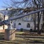 102-мм орудие Обуховского завода обр.1911 года № 2 в Музее судостроения и флота