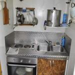 """""""Дельта"""" - учебное судно НКИ. Кухня."""