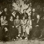 Группа медперсонала и больных. 1937 год.