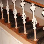 Перила лестницы в морском госпитале