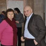 Любовь Варюхина и издатель Василий Торубара