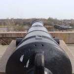 Пушка на БАМе. Направление ствола.