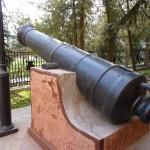 Пушка у Адмиралтейства 4