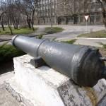 Пушка у Института истории и права