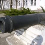 Пушка у Института истории и права 5