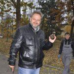 Соборная площадь. Кирилл Горбенко с артефактом.