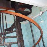 Винтовая лестница в морском госпитале - 3