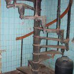 Винтовая лестница в морском госпитале - 4