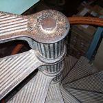 Винтовая лестница в морском госпитале - 7