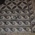 Водолечебница Кенигсберга. Мозаичный пол.